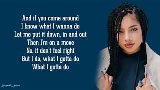 Kiana Ledé   Can I (Lyrics)