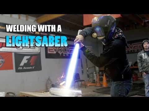 Car Guys Try a Lightsaber! – They Didn't Believe the Results.
