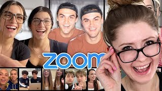 We Got EVERY Identical Twin On The Internet In One Zoom by The Dolan Twins Reaction