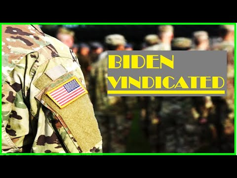 Americans STRONGLY Support Biden's Withdrawal - New Poll