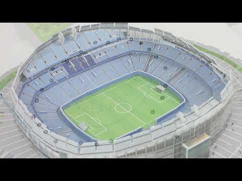 3D-Puzzle Nanostad: Manchester City