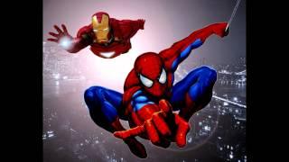 Фото Человек паук и железный человек
