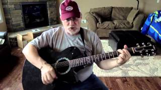 1525 -  Who's Cheatin' Who -  Alan Jackson cover with guitar chords and lyrics