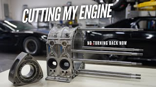 I start cutting into my Rotary Engines!  More HP coming. by Rob Dahm