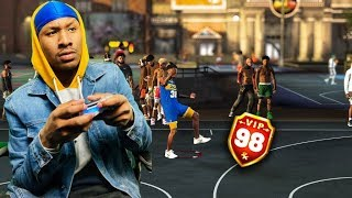 Demigod Shot Creator Stretch Big! NBA 2K19 MYPARK! I GOT THE BEST JUMPSHOT ON NBA 2K19