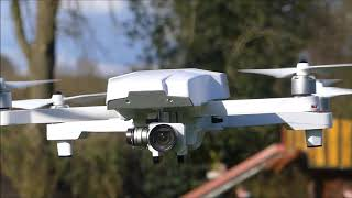 DJI Phantom 3 Drone Transforms into a Mavic Pro Flying Demonstration