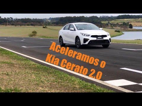 Kia Cerato ganha motor 2.0. E nós aceleramos!!