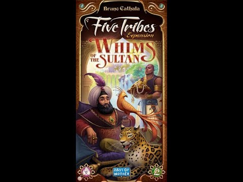 Dad vs Daughter - Five Tribes: Whims of the Sultan