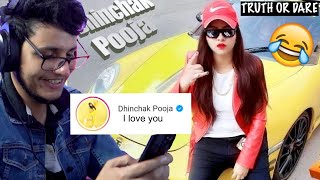 I Proposed Dhinchak Pooja After Listening Her New Song - Truth or Dare - Download this Video in MP3, M4A, WEBM, MP4, 3GP
