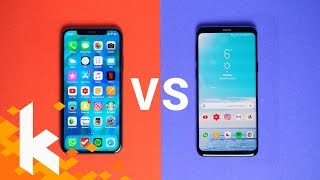 Galaxy S9 vs iPhone X - Was ist besser?