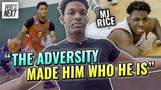 """""""I've Come Too Far From NOTHING!"""" Kansas Commit MJ Rice Is Living Up To His Name! Day In The Life 🔥"""