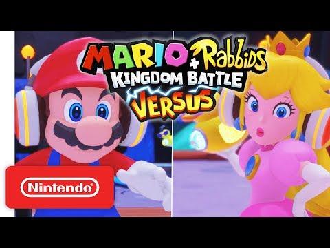 Mario + Rabbids® Kingdom Battle – Versus Mode Trailer – Nintendo Switch
