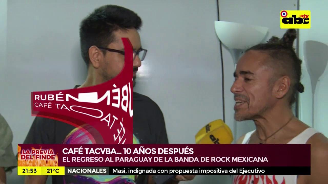 Café Tacvba… 10 años después en Paraguay