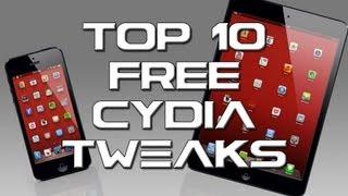 Evasi0n iOS 6.1 Top 10 FREE Cydia Tweaks For iPhone, iPad, iPad mini, & iPod touch