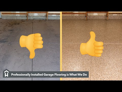 Professional Installed Polyaspartic Garage Floor Coating