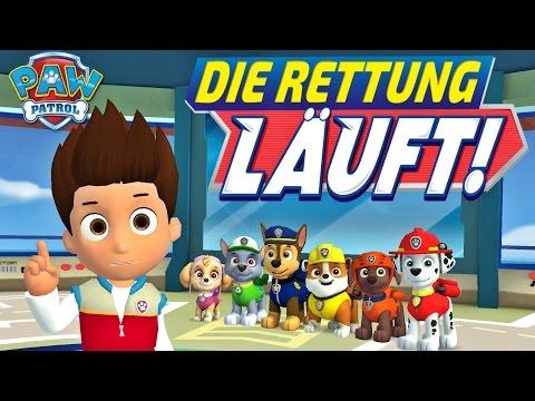 Paw Patrol Deutsch Die Rettung Lauft Kinder Spiel App Fur Ipad