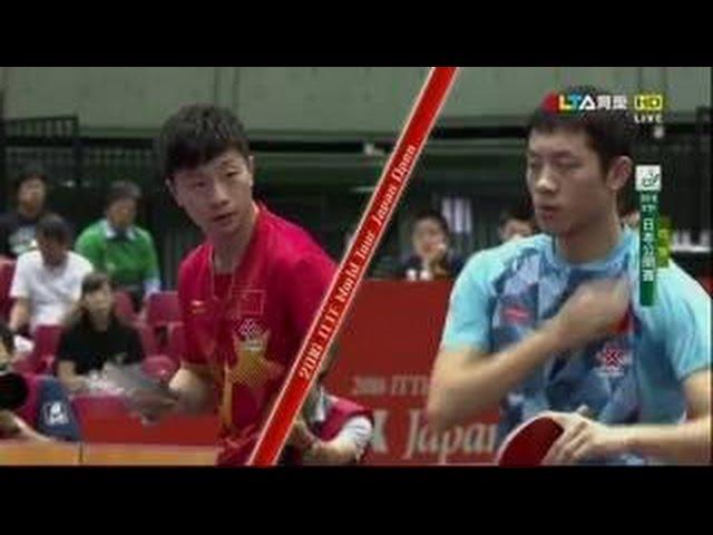 2016日本公開賽-男雙冠軍賽-許昕-馬龍-莊智淵