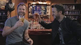 Luke Bryan and Dierks Bentley Can't Keep a Straight Face in these ACM Bloopers