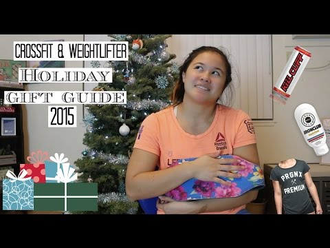 Crossfit & Weightlifters Holiday Gift Guide 2015 | Amber Underwood