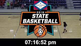 6A State Girls - Springdale vs. Central - 2/27/19