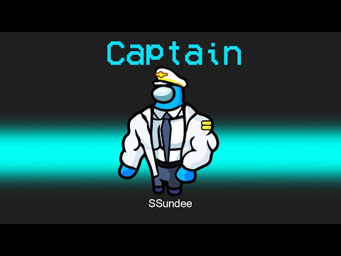 SUPER CAPTAIN Crewmate Role in Among Us