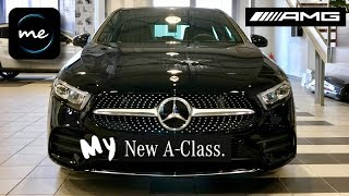 FIRST LOOK At My New 2019 MERCEDES A CLASS AMG Line!