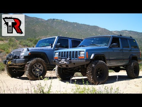 Jeep Cherokee Build  - First Time Off-Road