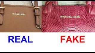 Real Vs Fake Michael Kors Bag. How To Spot Fake Michael Kors Hand Bags
