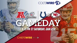 Indianapolis Colts Vs. Kansas City Chiefs Playoffs LIVE STREAM Reaction