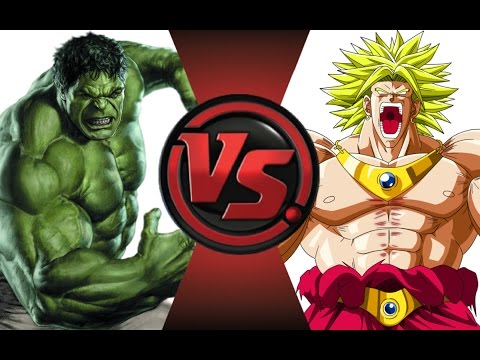 HULK vs BROLY! Cartoon Fight Club Episode 25
