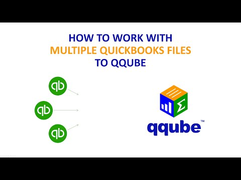 Working with Multiple QuickBooks files in QQube