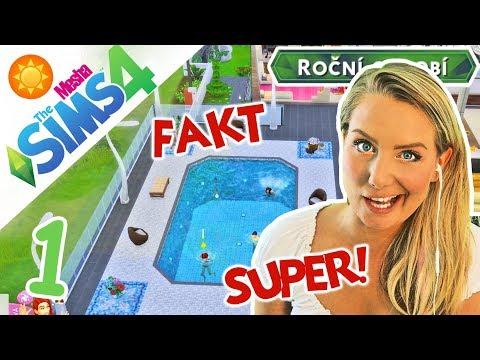 NEJLEPŠÍ DODATEK? NÁŠ SOUKROMÝ LETNÍ SVÁTEK! ● The Sims 4 - ROČNÍ OBDOBÍ 01