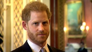 Prince Harry makes his first public appearance since he and Meghan Markle split from the royal family