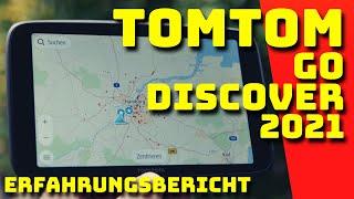 TOMTOM GO DISCOVER 2021 - Erfahrungsbericht - Deutsch