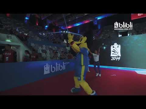 Blibli Indonesia Open 2019 - Entertainment