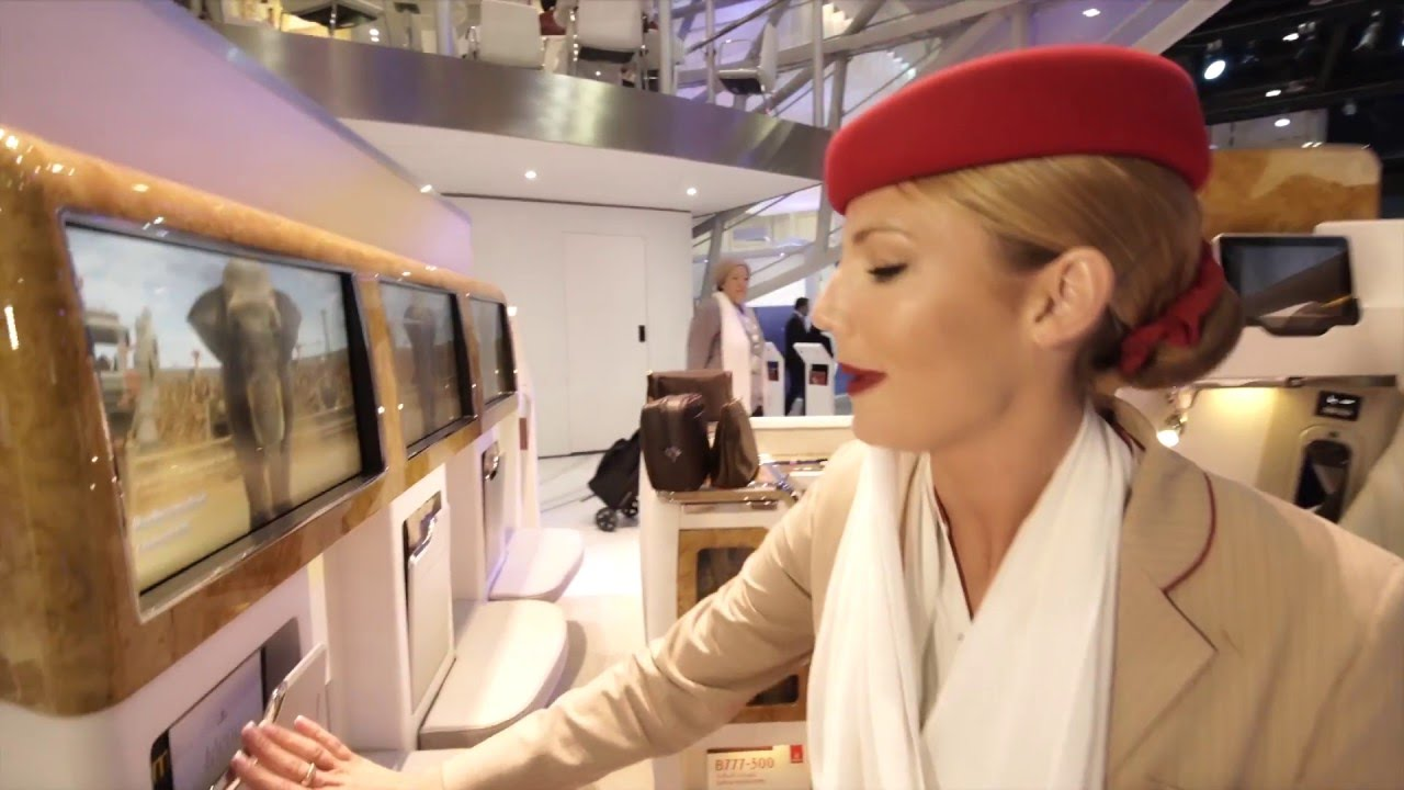 Emirates' New Business Class Seat Has An HDMI Port