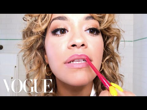 Rita Ora Does Day-to-Night Bombshell Beauty | Beauty Secrets | Vogue