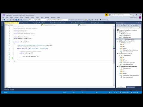 Tutorial-Part4: Creating a basic Tizen .NET app