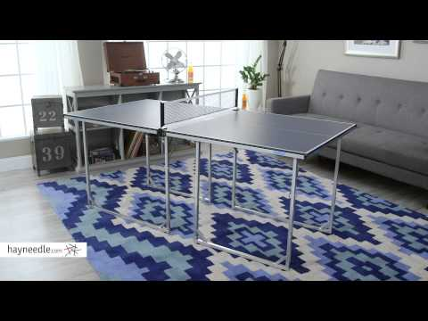 JOOLA USA MIDSIZE Table Tennis Table - Product Review Video