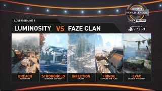 FaZe Clan Vs Luminosity Gaming | MLG Orlando Open 2016 Day 3
