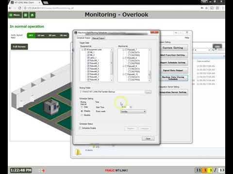 MT LINKi How to back up and store machine data