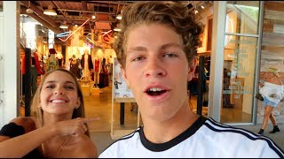 Ben Buys Outfits For Me! (Shopping Challenge)