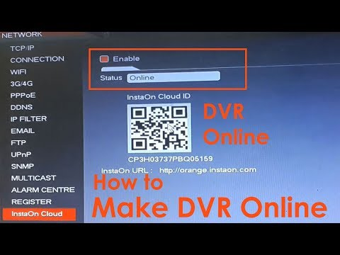 How to Make Cp Plus DVR Online   Enable DVR status Online for Remote View on Mobile & Laptop