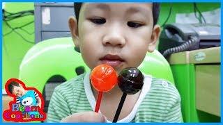 น้องบีม | ลูกอมเปลี่ยนสีลิ้น จูปาจุ๊บส์ Chupa Chups