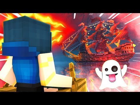 WE FOUND A HAUNTED GHOST SHIP! | Krewcraft Minecraft Survival | Episode 17 mp3