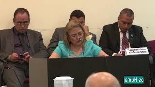Procuradora en Audiencia de seguimiento a sentencia de inconstitucionalidad de Ley de Amnistía