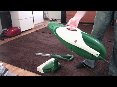 Vorwerk Kobold VK135: My most powerful upright (by pass motor)