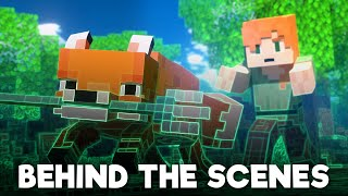 Fox Thief: BEHIND THE SCENES - Alex and Steve Life (Minecraft Animation)