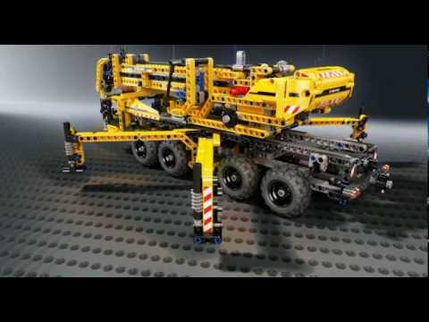 LEGO Technic Mobiele Hijskraan 8053