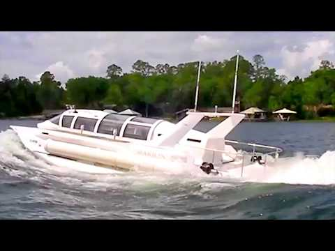 HSP Technologies - Hyper Sub Speed Boat Submarine Testing [1080p]